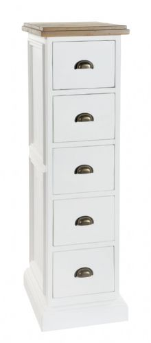 Lulworth 5 Drawer Tall Chest